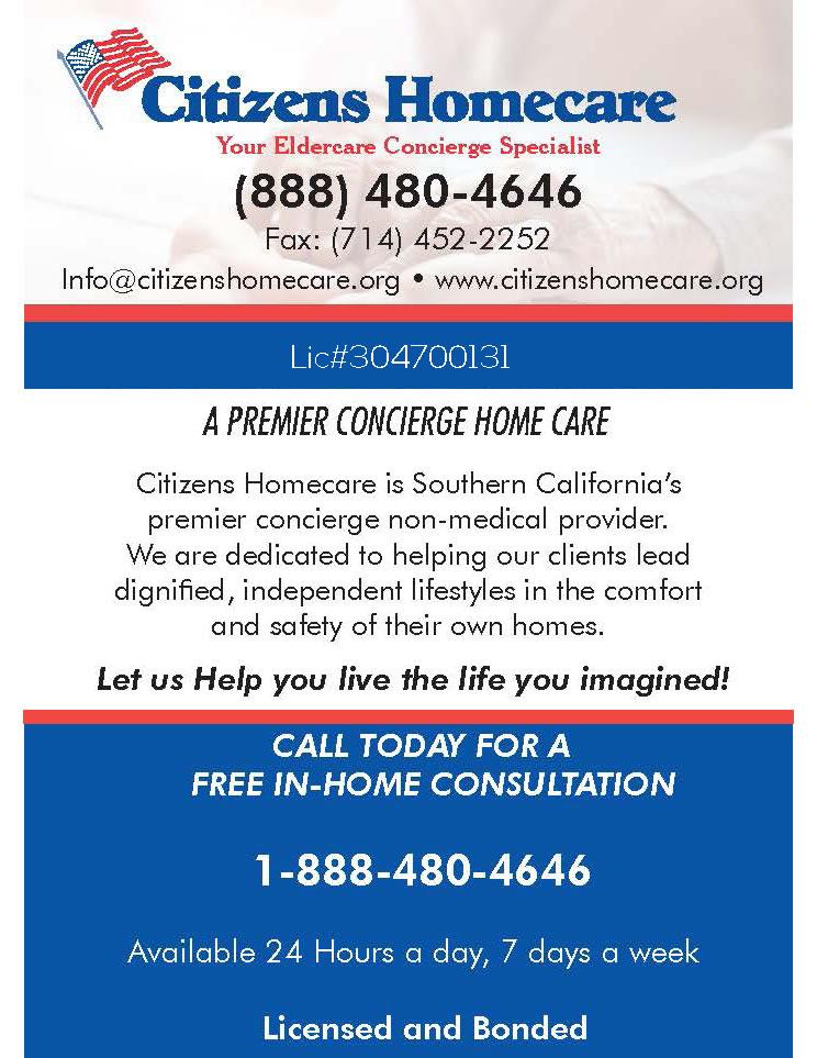 Citizens Homecare Ad