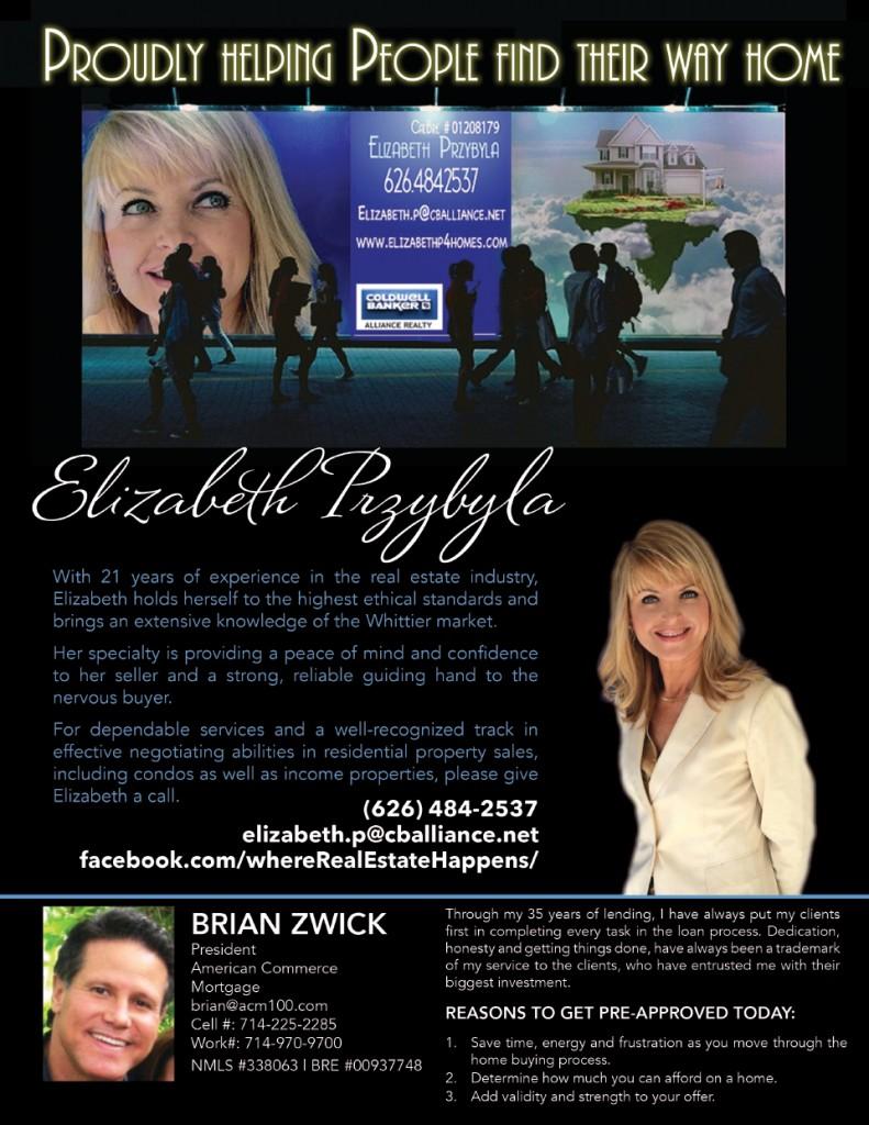 ELIZABETH P Friendly Hiller Ad