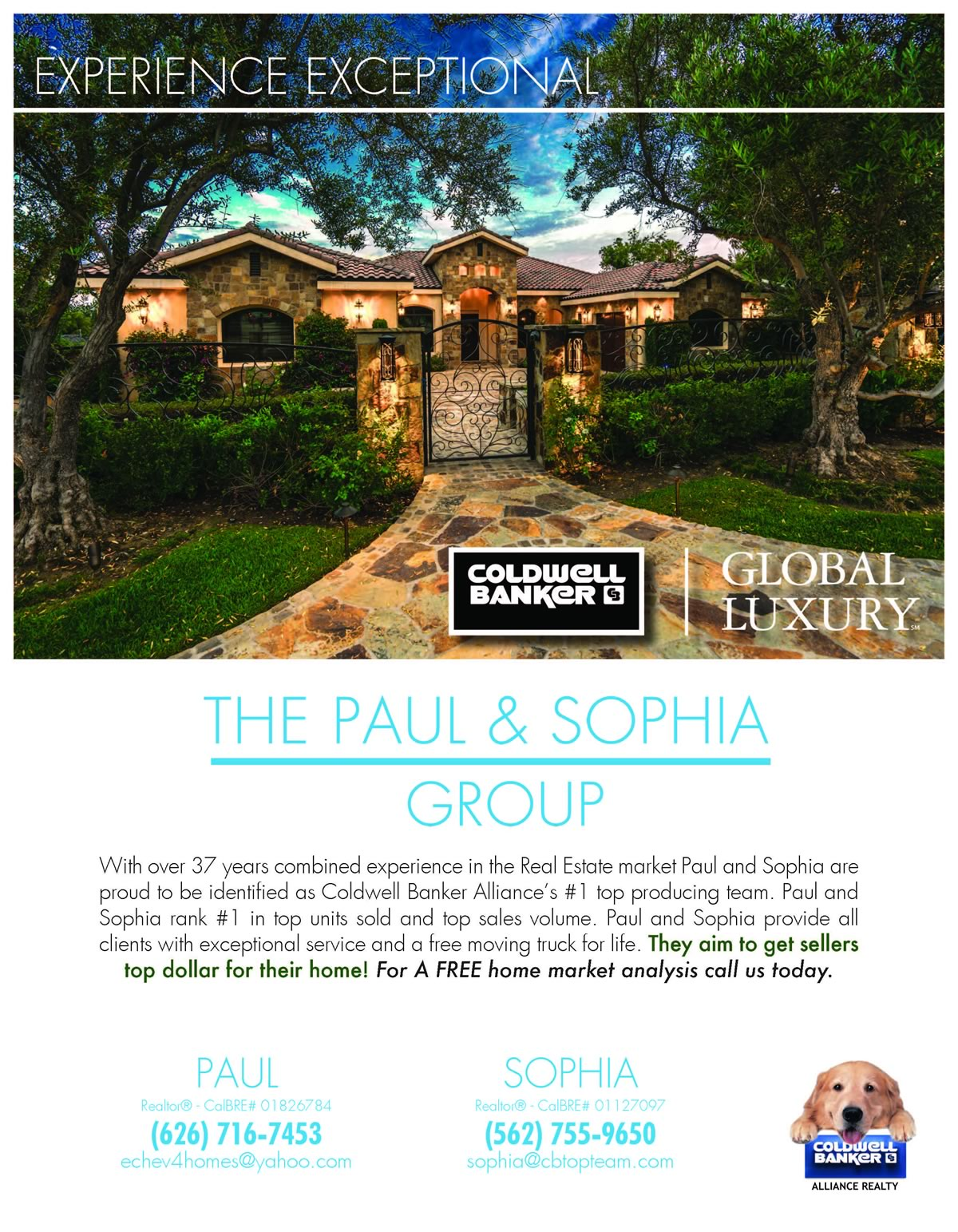 Realtors Paul and Sophia