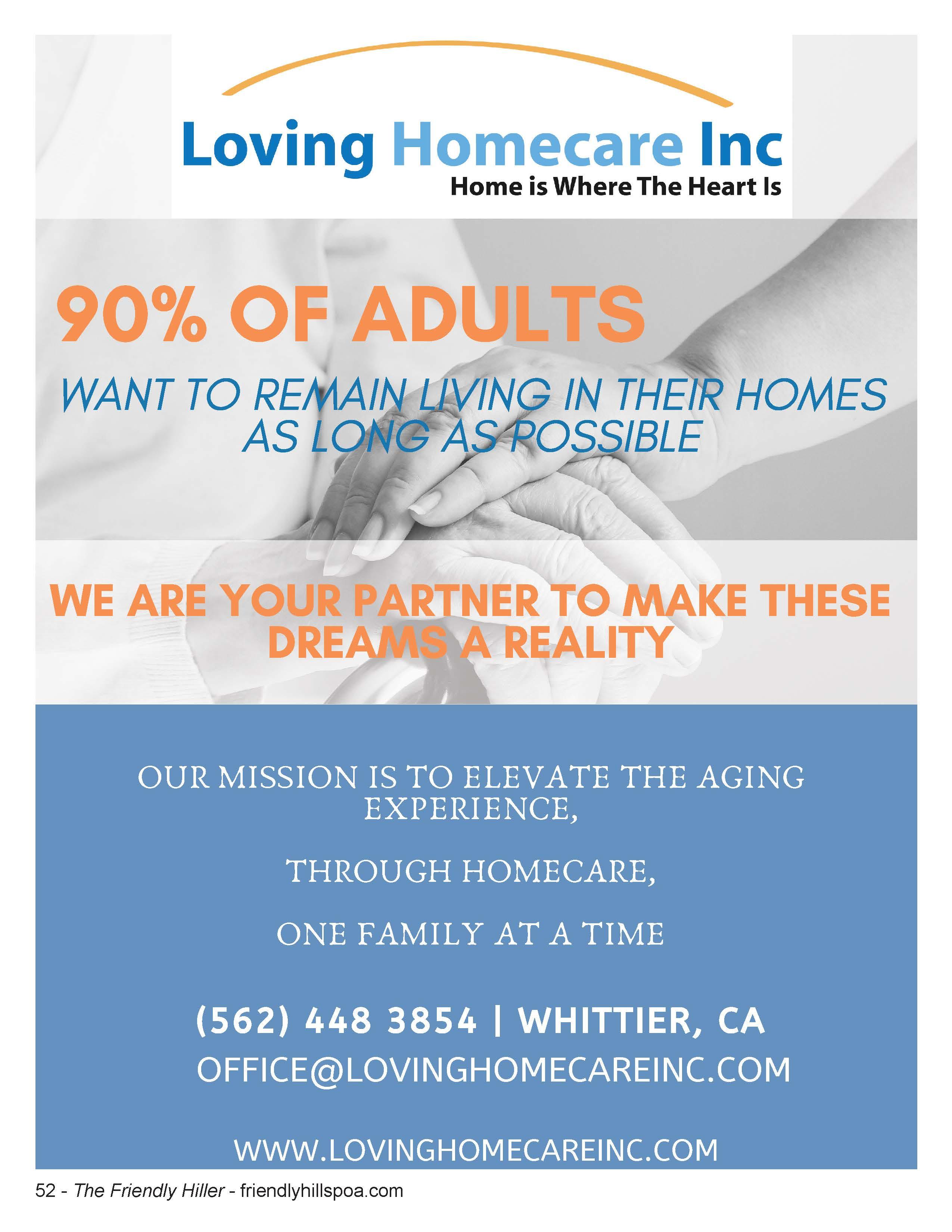 Loving Homecare Inc