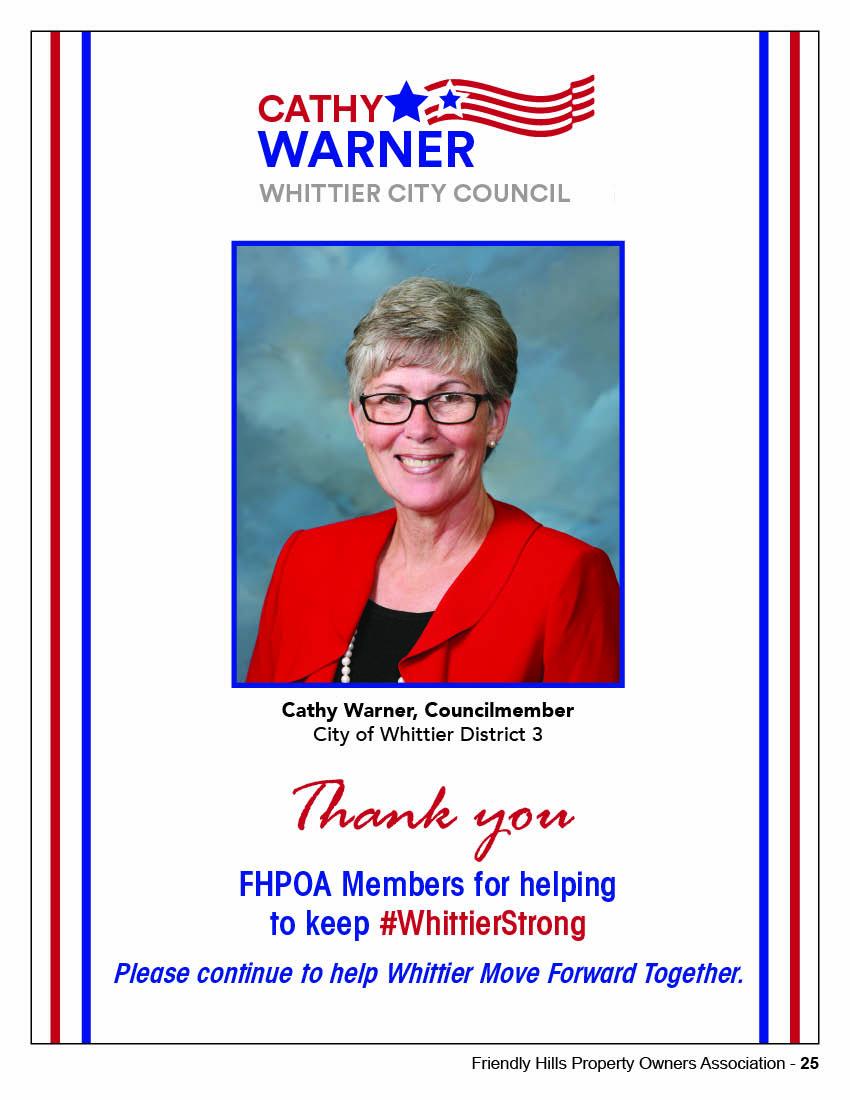 Cathy Warner