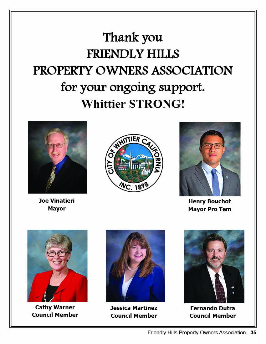 Whittier City Council