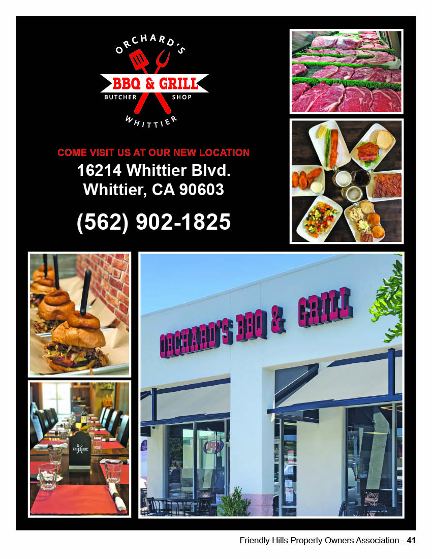 Orchards Whittier BBQ and Grill