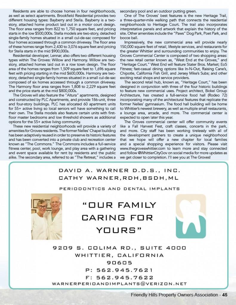 FHPOA Newsletter SPRING 202145