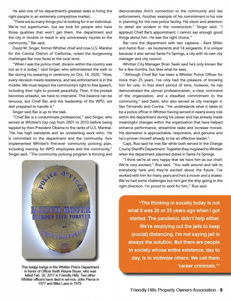 FHPOA Newsletter SPRING 20219