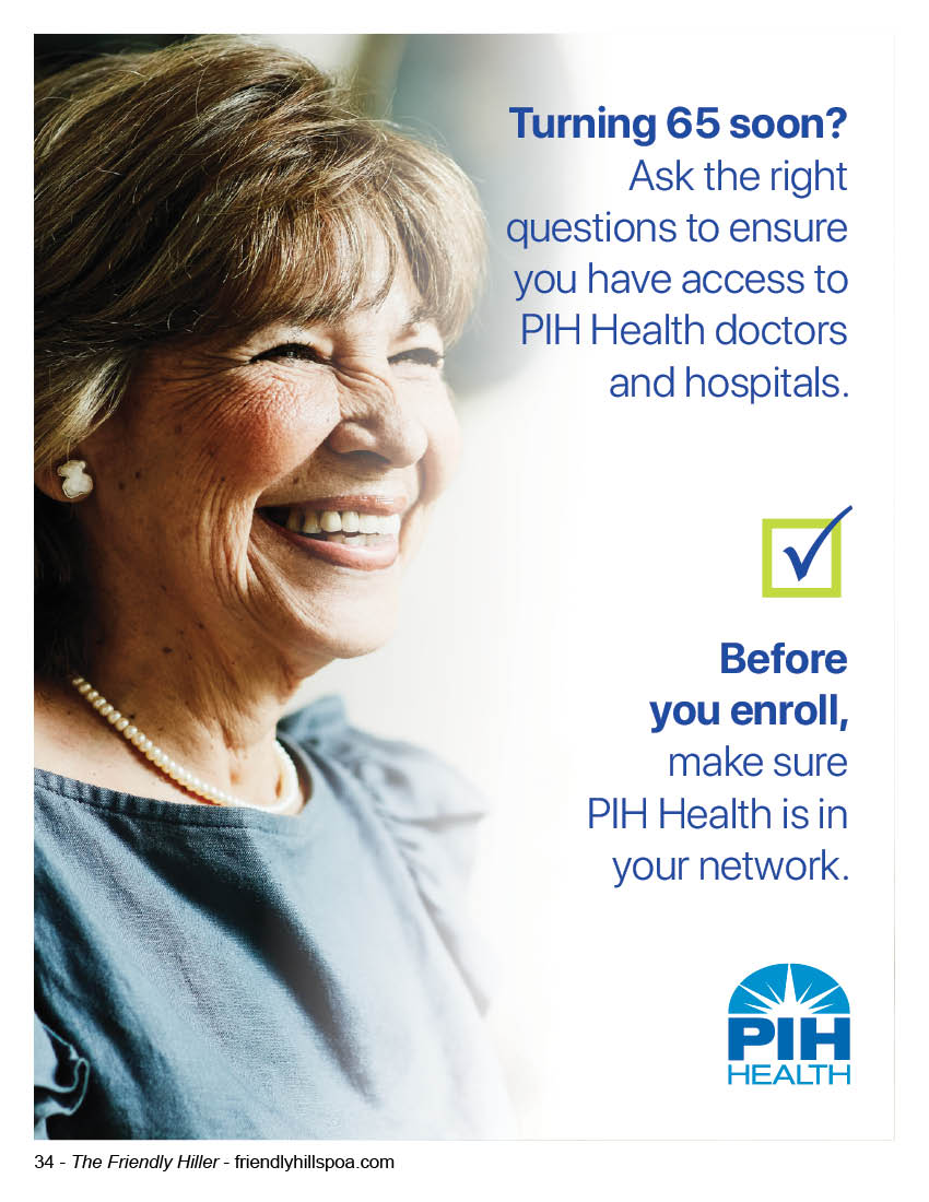 PIH Health Turning 65?