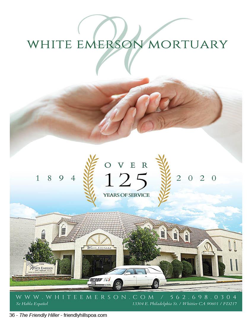 White Emerson Mortuary