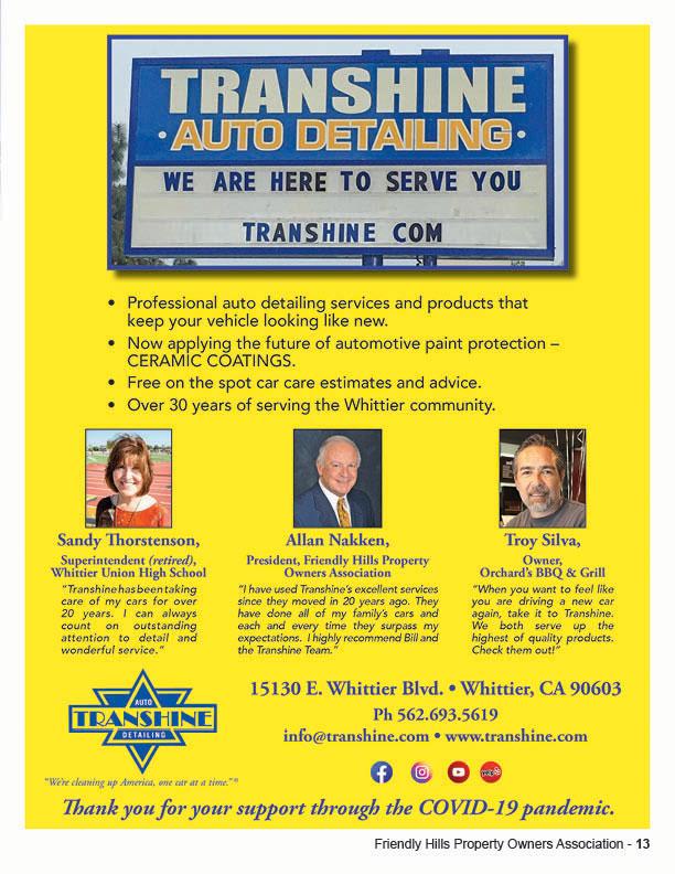 Transhine Auto Detailing